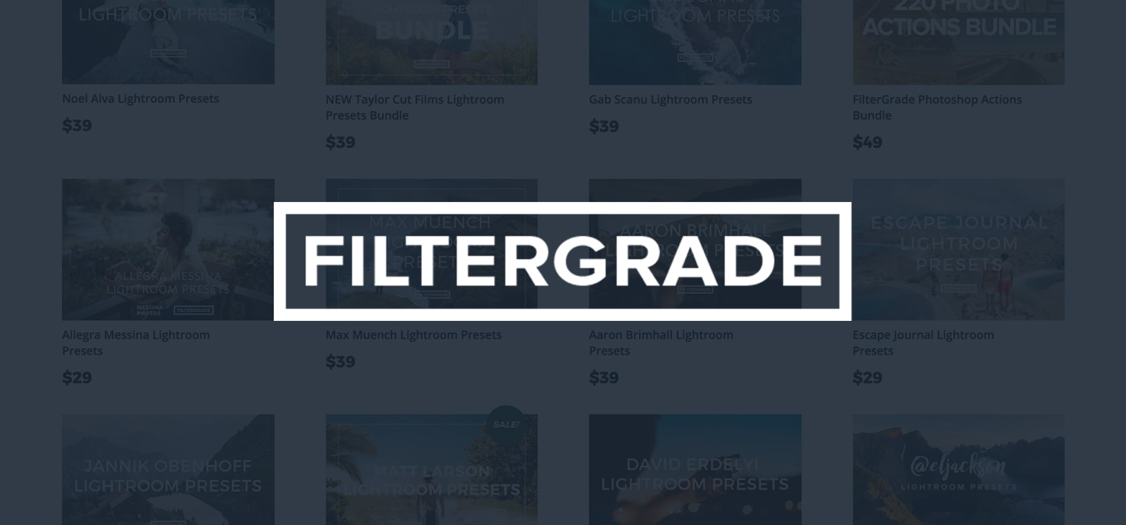 filtergrade lightroom presets