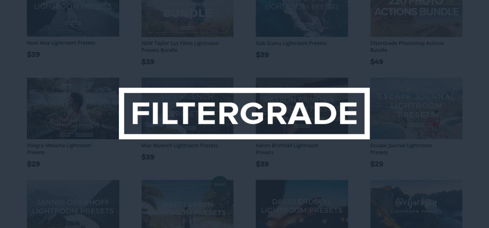 filtergrade lightroom presets