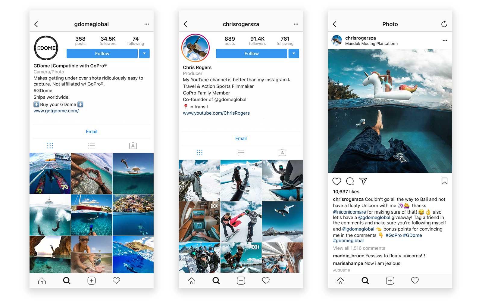 instagram giveaway contest gdomeglobal chrisrogersza