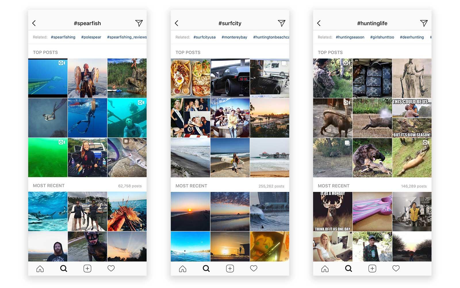 instagram explore feature