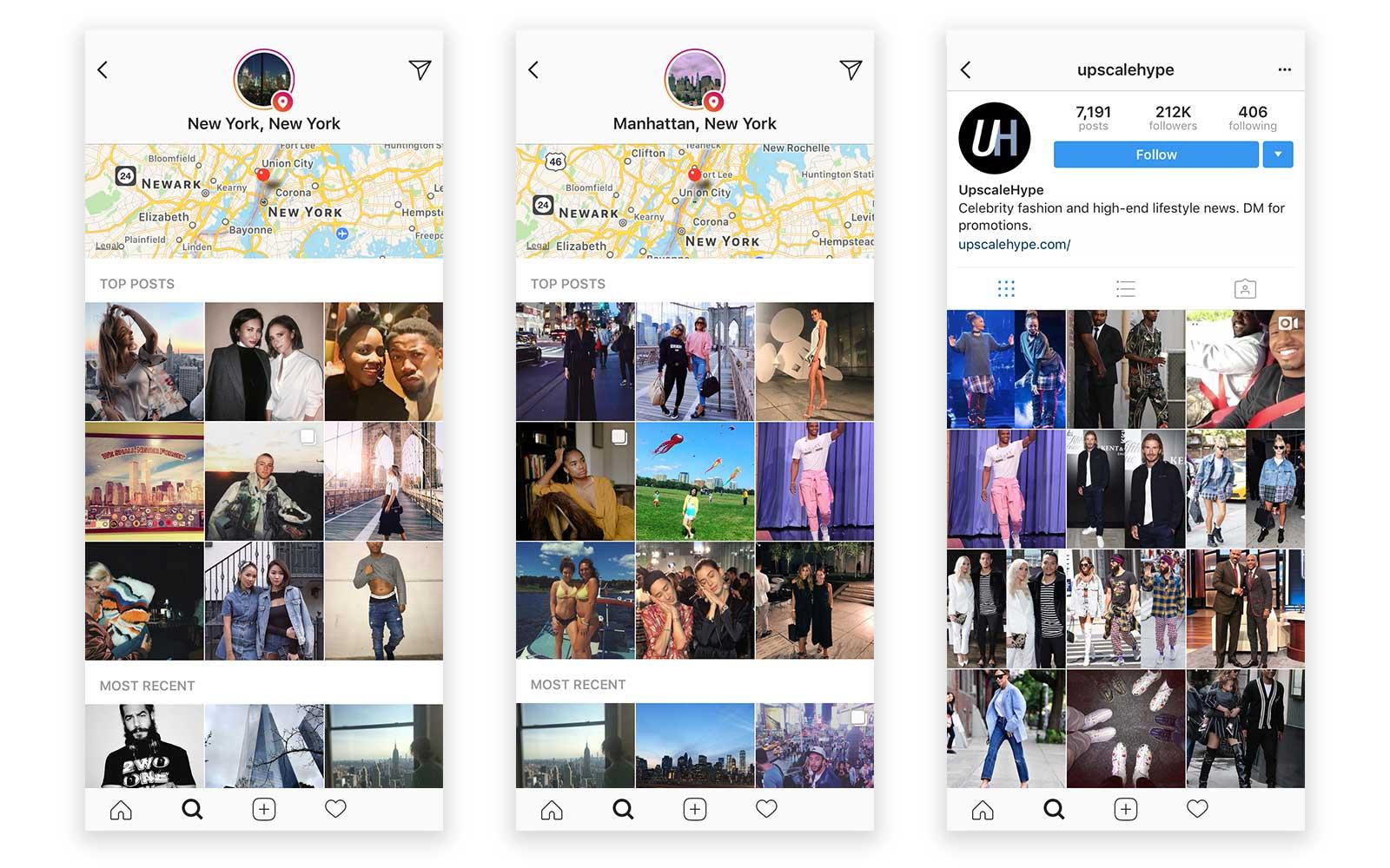 instagram location tagging