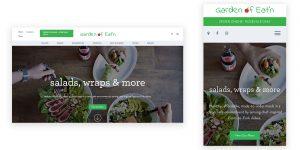 Garden of Eat'n Website Roseville Client